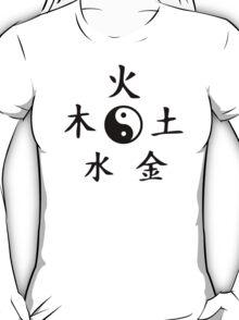 Five elements yin yang T-Shirt