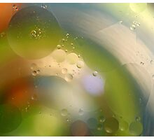 Oil in water #8 Photographic Print