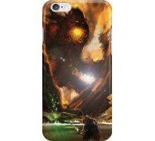 Forest Fire Monster iPhone Case/Skin