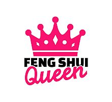 Feng shui queen Photographic Print