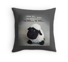 va bee? Throw Pillow