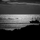 Shadow boat by Alexander Meysztowicz-Howen