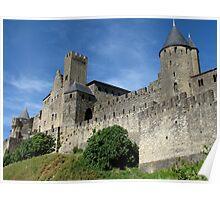Carcassonne Cite, France Poster