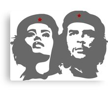 Che Guevara in love with a woman Tania Tamara Bunke  Canvas Print