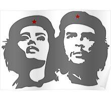 Che Guevara in love with a woman Tania Tamara Bunke  Poster
