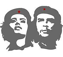 Che Guevara in love with a woman Tania Tamara Bunke  Photographic Print