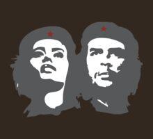 Che Guevara in love with a woman Tania Tamara Bunke  T-Shirt