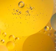 Oil in water # 6 Sticker