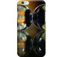 Abstract balls with refraction. iPhone Case/Skin