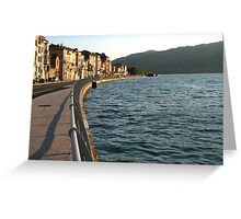 River Rhone Greeting Card