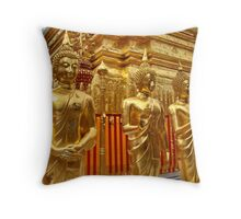 Three images Throw Pillow