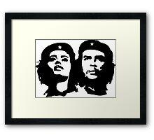 Che Guevara and Tania Tamara Bunke the woman Che Loved 1 Framed Print