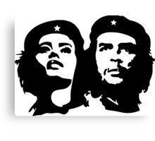 Che Guevara and Tania Tamara Bunke the woman Che Loved 1 Canvas Print