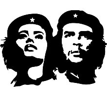 Che Guevara and Tania Tamara Bunke the woman Che Loved 1 Photographic Print