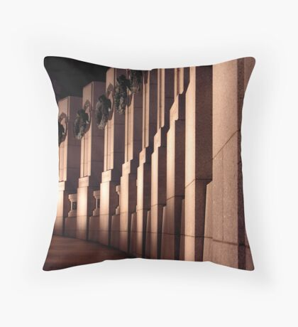 shadows of a war Throw Pillow