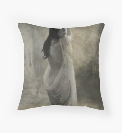 Angelica from the Back Throw Pillow