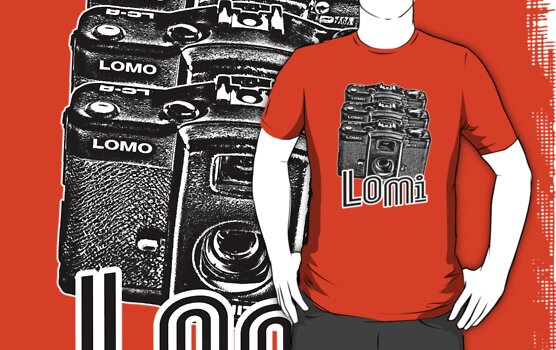 Lomi T-Shirt by Neil Bedwell