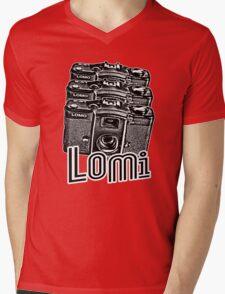 Lomi T-Shirt Mens V-Neck T-Shirt