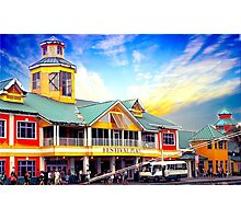 Market place Photographic Print