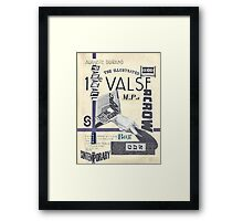 The Great British Voting Station. Framed Print