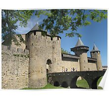Chateau de Comtal, Carcassonne Poster