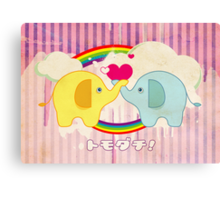 A Friendly Fable ♥ [ Tomodachi Edition ] Canvas Print