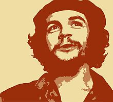 Ernesto Che Guevara smile by SofiaYoushi