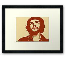 Ernesto Che Guevara smile Framed Print