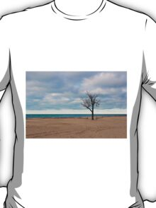 A tree by the lake. T-Shirt