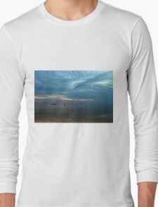 Lake in the evening. Long Sleeve T-Shirt