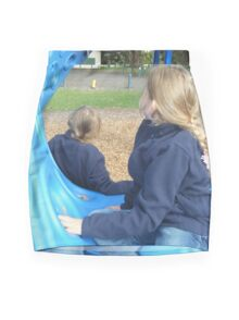 Blue Girls ~ Apex Park Mini Skirt
