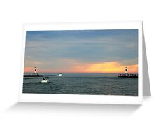 Light house #3 Greeting Card