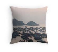 Cat Ba Island, Halong Bay Throw Pillow