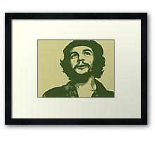 Ernesto Che Guevara happy Framed Print