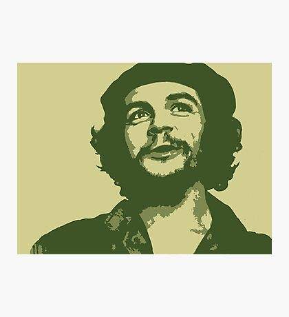 Ernesto Che Guevara happy Photographic Print