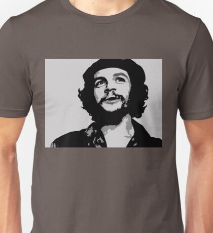 Ernesto Che Guevara black and white portrait Unisex T-Shirt