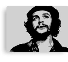 Ernesto Che Guevara black and white portrait Canvas Print