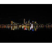 Goodnight Perth Photographic Print