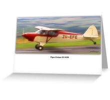 Rendition - Piper Cruiser Greeting Card