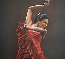 FLAMENCO DANCER by carss66