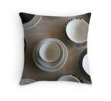 Bowls II Throw Pillow