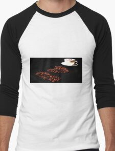 I love Coffee Men's Baseball ¾ T-Shirt