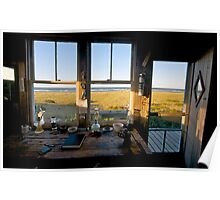 Dune Shack Evening at Provincetown, Cape Cod Poster