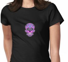 Sugar skull 1 Womens Fitted T-Shirt