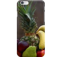 A basket of fruits iPhone Case/Skin