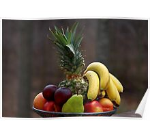A basket of fruits Poster