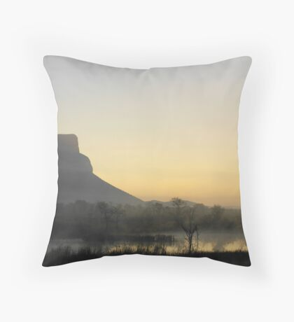 Waterberg winter Throw Pillow