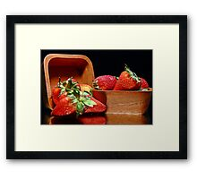 Strawberries #1 Framed Print
