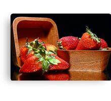 Strawberries #1 Canvas Print