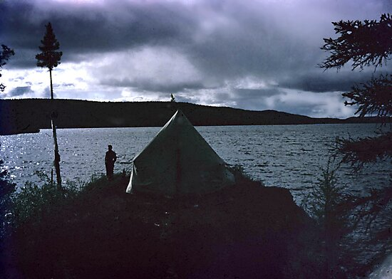 Labrador Summer-1953 by George Cousins